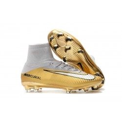 Chaussure Nouvelles Nike Mercurial Superfly 5 FG - CR7 Quinto Triunfo