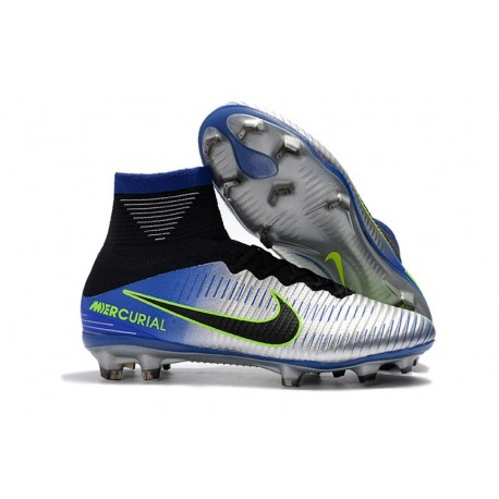 Chaussure Nouvelles Superfly Chrome Nike Mercurial Neymar 5 Fg PukXZi