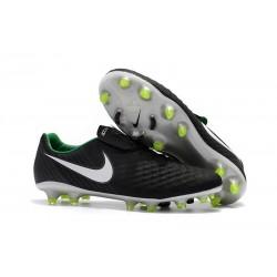 Nike Magista Opus 2 FG Crampons de Football - Noir Blanc
