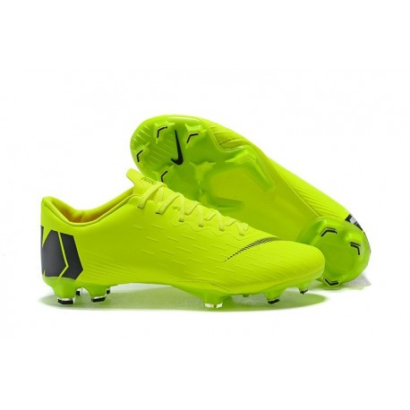 Coupe du Monde 2018 Crampons Nike Mercurial Vapor XII FG - Vert Noir