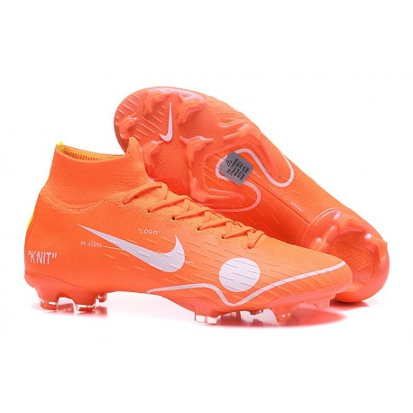Nike Mercurial Superfly VI 360 Elite FG Off-White Orange