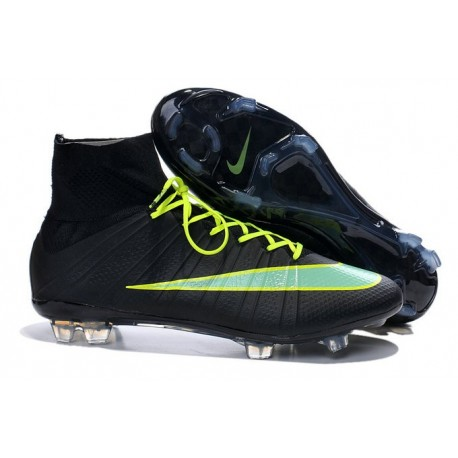 Crampons de Foot Ronaldo Nike Mercurial Superfly FG ACC Noir Vert