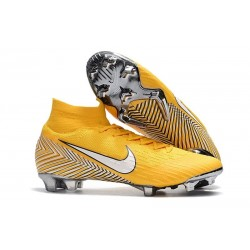 Nike Mercurial Superfly VI 360 Elite FG Neymar Chaussures - Jaune