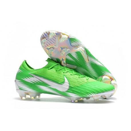 Coupe du Monde 2018 Crampons Nike Mercurial Vapor XII FG - Vert Blanc