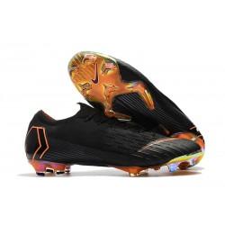 Coupe du Monde 2018 Crampons Nike Mercurial Vapor XII FG - Noir Orange