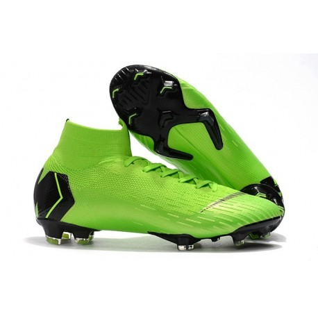 Nike Crampons Football Mercurial Superfly 6 Elite CR7 FG - Vert Noir