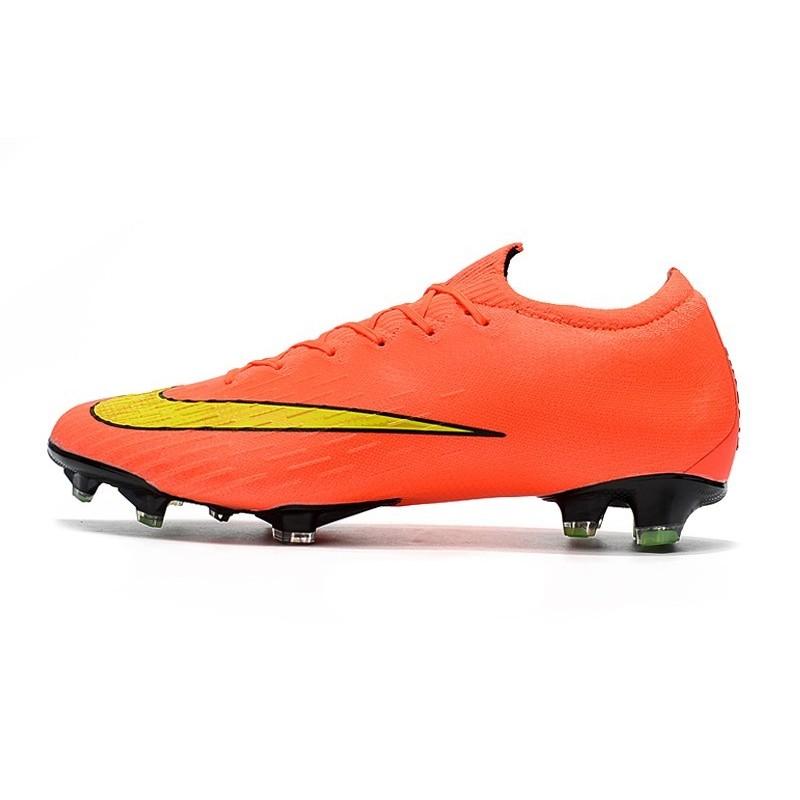 sneakers for cheap 9ab69 80113 Nike Mercurial Vapor 12 Elite FG Chaussure de Football - Ora