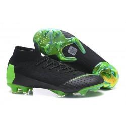Nike Mercurial Superfly 6 Elite FG Chaussure - Noir Vert