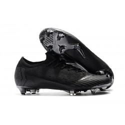 Nike Mercurial Vapor 12 Elite FG Chaussure de Football - Noir