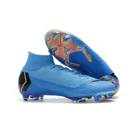 Nike Mercurial Superfly 6 Elite FG Chaussure - Bleu Noir
