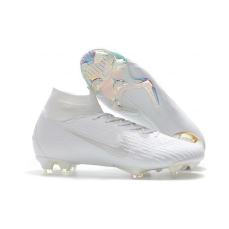 Nike Mercurial Superfly 6 Elite FG Chaussure - Blanc