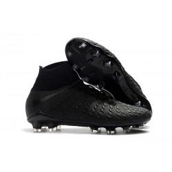 Crampons de Foot Nike HyperVenom Phantom III DF FG - Noir Argent