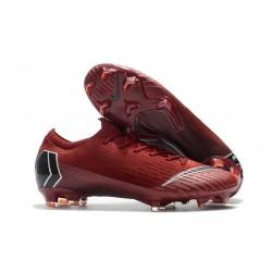 Crampons Nike Mercurial Vapor XII 360 Elite FG - Rouge Noir