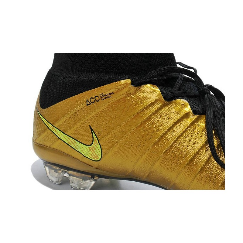 Nike Football Or Noir Superfly Mercurial Fg Chaussures BQCorxeWEd