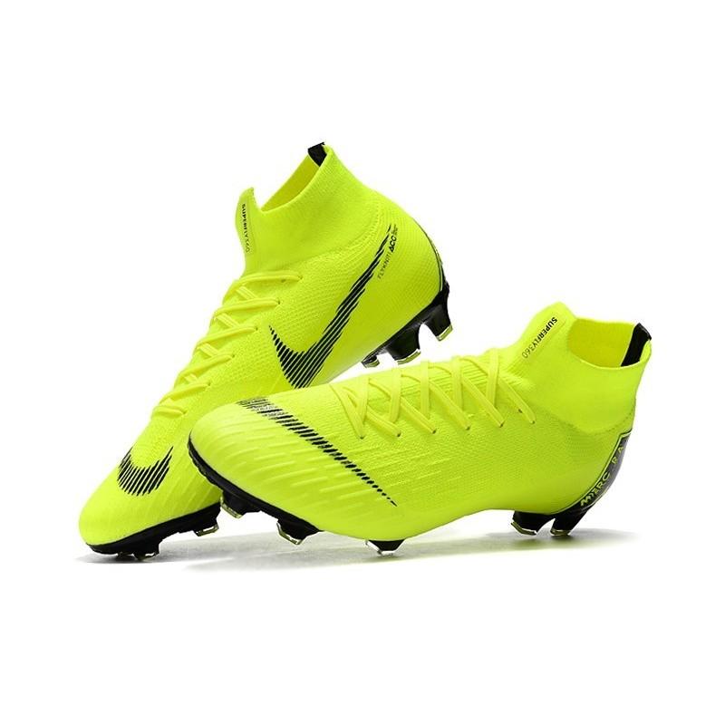 Football 360 Superfly Mercurial Fg Volt Crampons Noir Vi De Nike XPTOkuZi