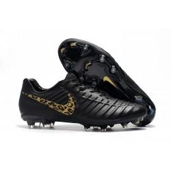 Nike Nouveaux Chaussures Tiempo Legend VII Elite FG - Noir Safari