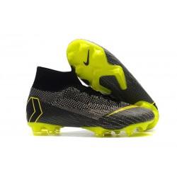 Crampons de Football Nike Mercurial Superfly VI 360 FG - Noir Jaune