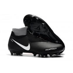 Nike Crampon Phantom VSN Elite DF FG - Noir Rouge Blanc