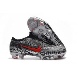 Crampons Neymar Nike Mercurial Vapor XII 360 Elite FG - Noir Blanc Rouge