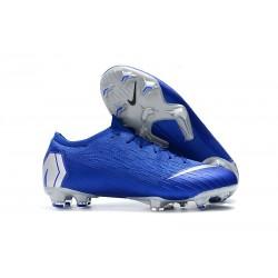Nike Mercurial Vapor XII 360 Elite FG Chaussure Homme - Bleu Argent