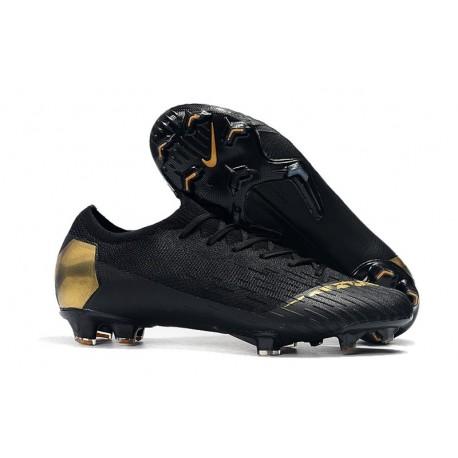 Nike Mercurial Vapor XII 360 Elite FG Chaussure Homme - Noir Or