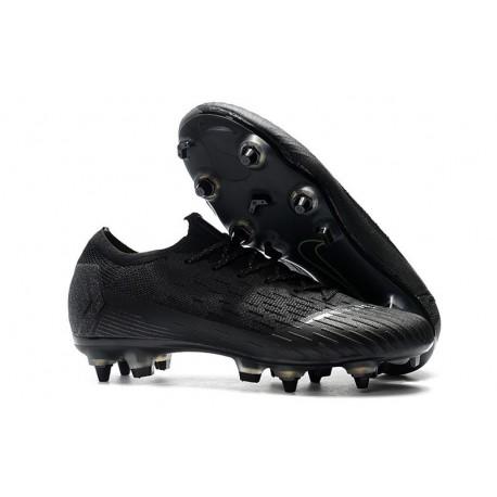 Nike Mercurial Vapor XII Elite Anti-Clog SG-Pro Tout Noir