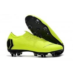 Nike Mercurial Vapor 12 SG-Pro AC Chaussure - Volt Noir