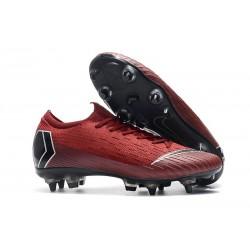 Nike Mercurial Vapor 12 SG-Pro AC Chaussure - Rouge Noir