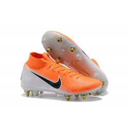 Nike Mercurial Superfly 360 Elite SG-Pro AC Orange Blanc