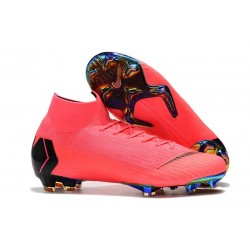 Nike Chaussure Homme Mercurial Superfly VI 360 FG - Rose Noir
