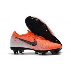 Nike Mercurial Vapor 12 SG-Pro AC Chaussure - Orange Noir