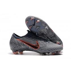Crampons Nike Mercurial Vapor 12 Elite FG ACC Gris Noir
