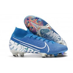 Chaussure Nike Mercurial Superfly VII Elite FG New Lights Bleu
