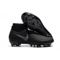 Nike Phantom Vision Elite DF FG Chaussures de Football - Tout Noir