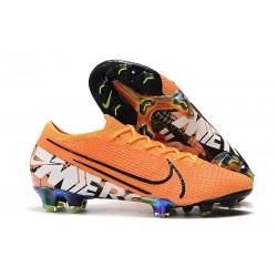 Crampons Nouveaux Nike Mercurial Vapor 13 Elite FG - Orange