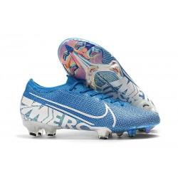 Crampons Nouveaux Nike Mercurial Vapor 13 Elite FG - New Lights Bleu