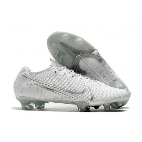 Crampons Nouveaux Nike Mercurial Vapor 13 Elite FG - Blanc