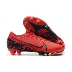 Crampons Nouveaux Nike Mercurial Vapor 13 Elite FG - Rouge Noir