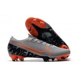Crampons Nouveaux Nike Mercurial Vapor 13 Elite FG - Gris Orange