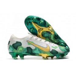 Mbappe Nike Mercurial Vapor XIII Elite FG Neuf Chaussure Gris Vert Or