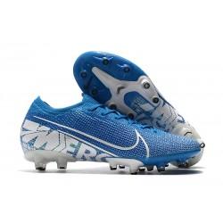 Nike MERCURIAL VAPOR 13 ELITE AG-PRO Bleu Blanc