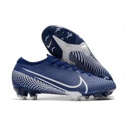 Chaussure Nike Mercurial Vapor 13 Elite FG ACC Bleu Blanc