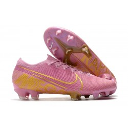 Chaussure Nike Mercurial Vapor 13 Elite FG ACC Rose Or