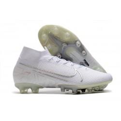 Crampon Nike Mercurial Superfly VII Elite AG-Pro Blanc