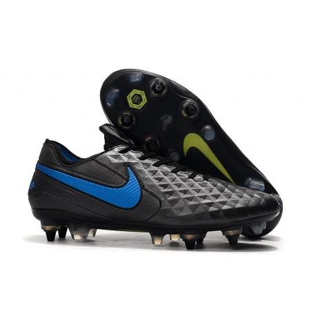 Crampons Nike Tiempo Legend VIII Elite SG-Pro Noir Bleu