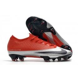 Nike Future DNA Mercurial Vapor 13 Elite FG ACC Rouge Argent Noir