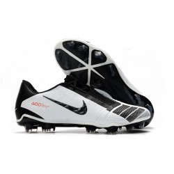 Chaussures de Foot Nike Phantom Vnm Elite FG -Blanc Noir Rouge