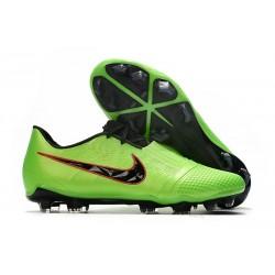 Chaussures de Foot Nike Phantom Vnm Elite FG -Vert Noir