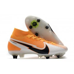 Nike Mercurial Superfly 7 Elite SG Daybreak - Orange Laser Noir Blanc