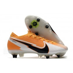 Nike Mercurial Vapor XIII Elite SG Anti Clog Orange Laser Noir Blanc